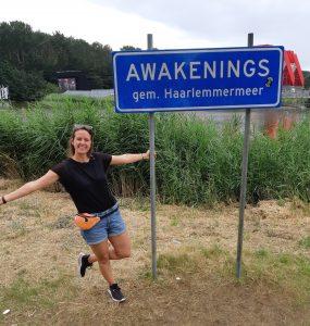 Marlies op Awakenings Festival
