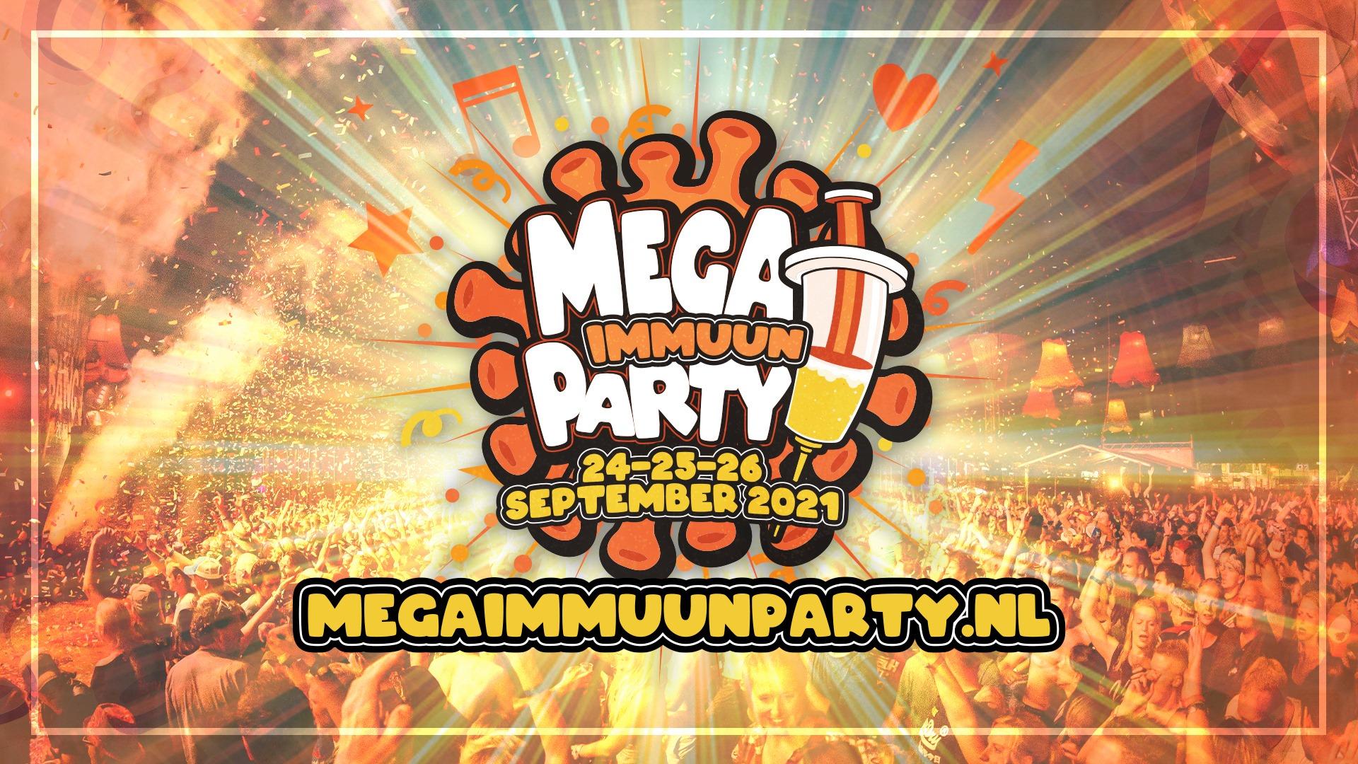 Zwarte Cross, Mega immuun party