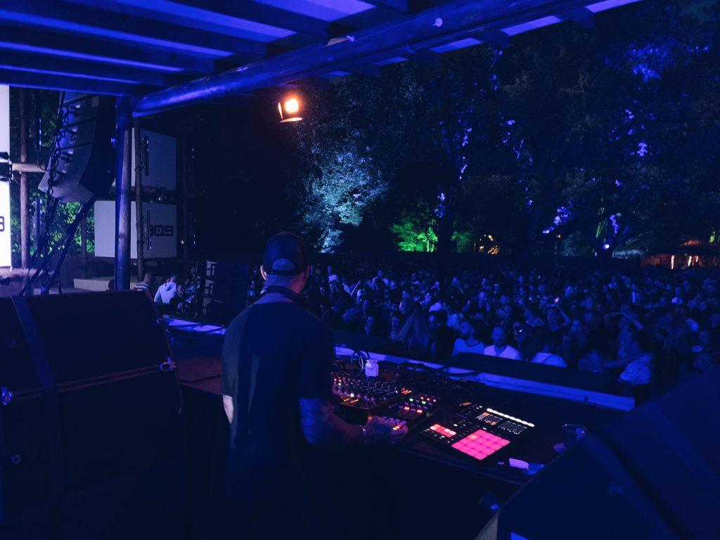 Chris Liebing 909 stage