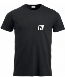 Heren T-shirt black