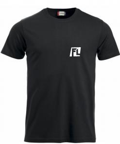 Heren T-shirt black