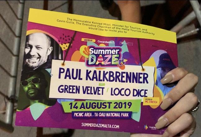 Paul Kalkbrenner Summer Daze Festival
