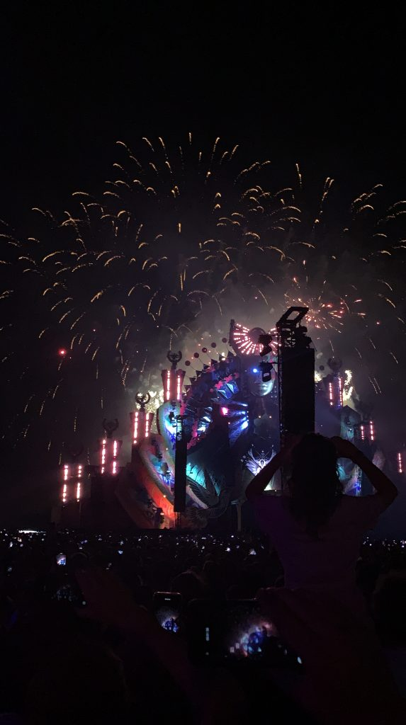 Vuurwerk mysteryland