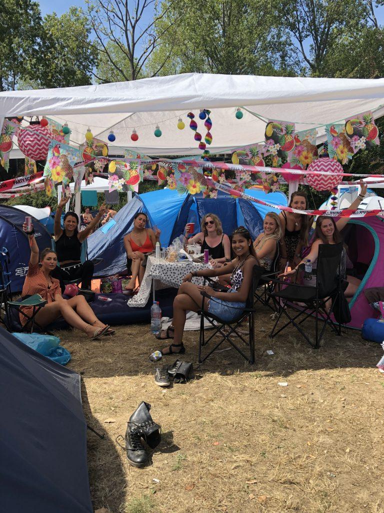 Camping Solar Weekend Festival