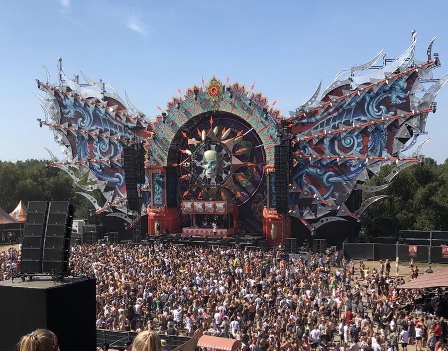 Hardstyle stage Mysteryland 2019