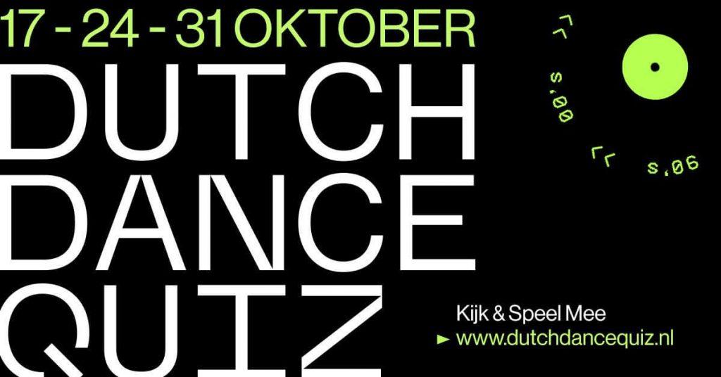 Dutch dance Quiz