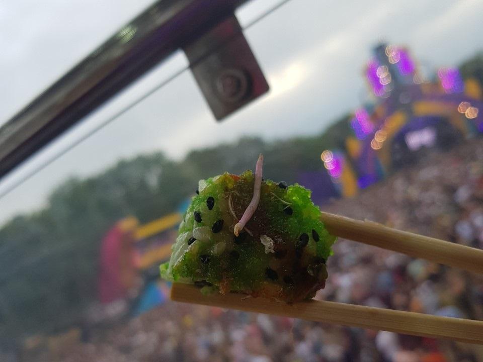 Sushi in het reuzenrad